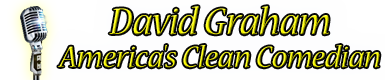 David Graham – America's Clean Comedian – The 1# Retina Logo